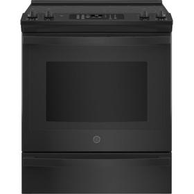 "GE® 30"" Slide-In Electric Convection Range with No Preheat Air Fry"