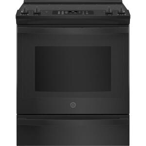 "GE®30"" Slide-In Electric Convection Range with No Preheat Air Fry"