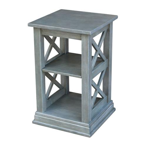 Hampton Accent Table in Heather Gray