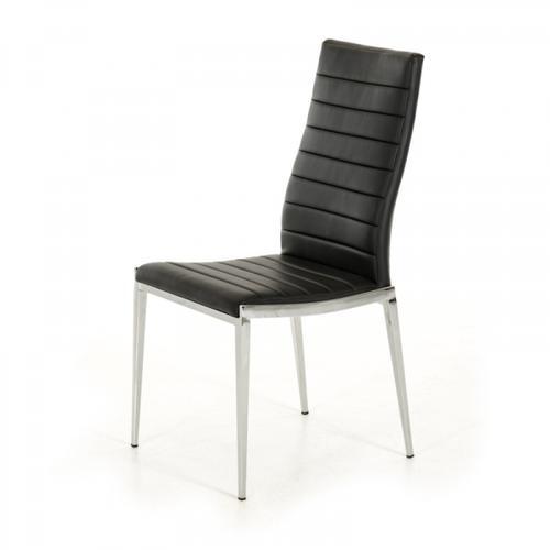 VIG Furniture - Libby - Modern Black Leatherette Dining Chair (Set of 2)