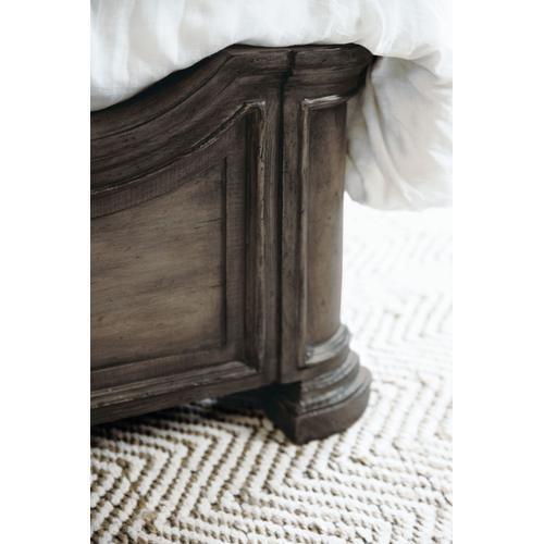 Bedroom Woodlands King Panel Bed