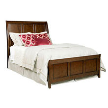 Elise Caris Sleigh Queen Bed - Complete