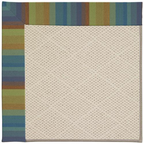 "Creative Concepts-White Wicker Astoria Lagoon - Rectangle - 24"" x 36"""