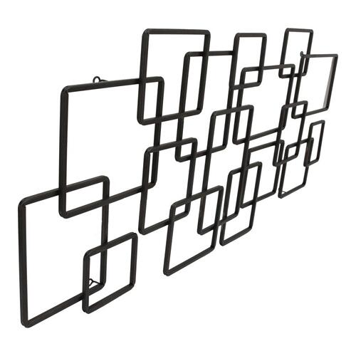 Steel Squares Wall Décor