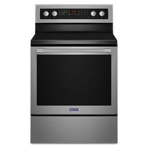 Maytag30-Inch Wide Electric Range With True Convection And Power Preheat - 6.4 Cu. Ft.