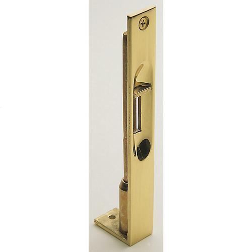 Lifetime Polished Brass Residential Flush Bolt