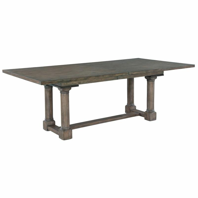 2-3520 Lincoln Park Trestle Dining Table