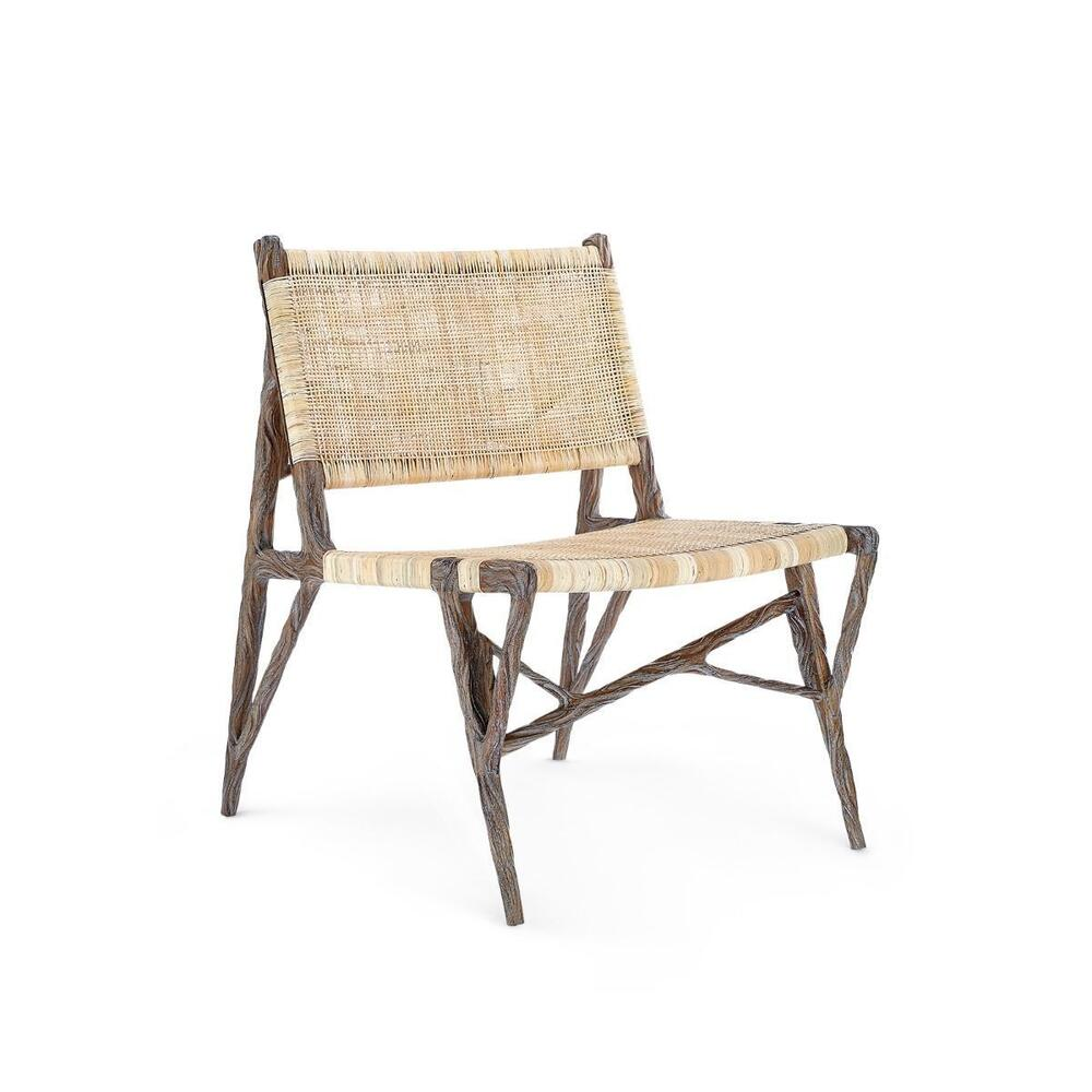 Hugh Lounge Chair, Driftwood
