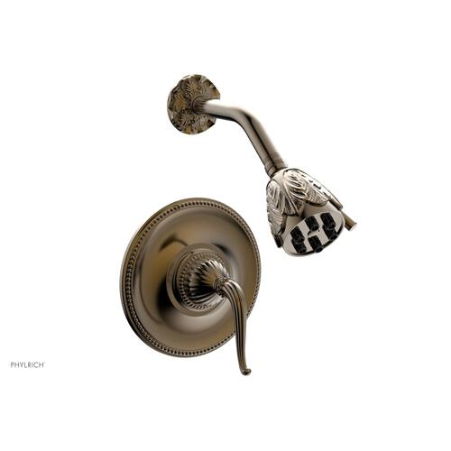 GEORGIAN & BARCELONA Pressure Balance Shower Set - Lever Handle PB3141 - Antique Brass