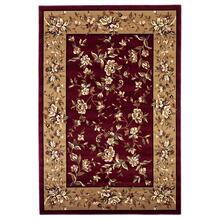 "Cambridge 7337 Red/beige Floral Delight 5'3"" X 7'7"""