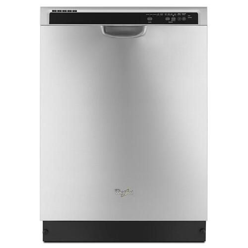 Whirlpool - ENERGY STAR® certified dishwasher with Sensor cycle Stainless Steel