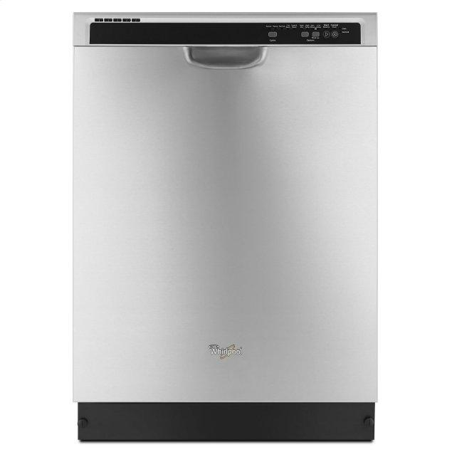 Whirlpool ENERGY STAR® certified dishwasher with Sensor cycle Stainless Steel