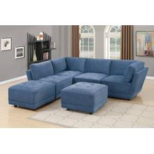 6-pcs Modular Sectional