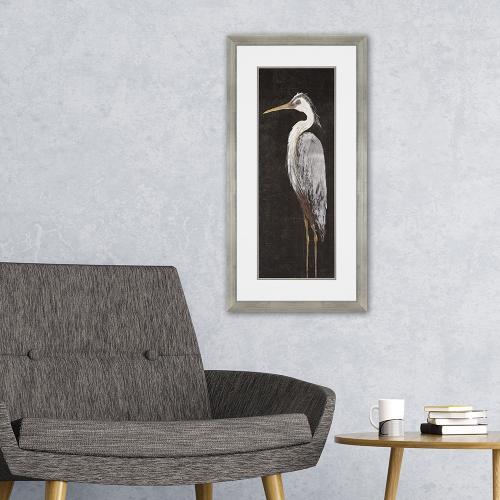 Heron on Black I