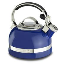 See Details - 2.0-Quart Stove Top Kettle with Full Stainless Steel Handle Doulton Blue