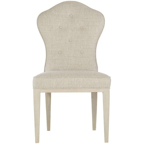 East Hampton Side Chair in Cerused Linen (395)