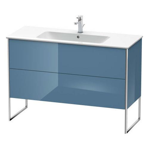 Product Image - Vanity Unit Floorstanding, Stone Blue High Gloss (lacquer)