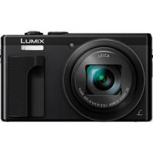 See Details - LUMIX 4K Digital Camera ZS60, 18 Megapixels, 24-720mm LEICA DC Lens Zoom, WiFi and Electronic Viewfinder - Black