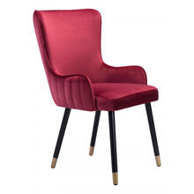 Paulette Accent Chair Red