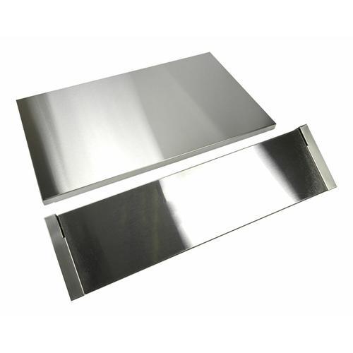KitchenAid - Stainless Steel Backsplash with Dual Position Shelf - Other