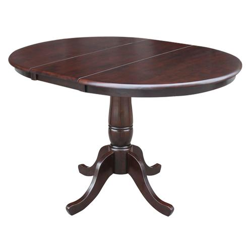 John Thomas Furniture - Round Extension Table in Rich Mocha