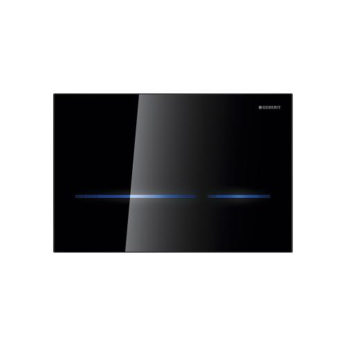Sigma80 Dual-flush plates for Sigma series in-wall toilet systems Sigma 2x6 in-wall system Compatibility Black glass Finish