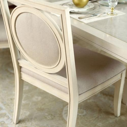 Salon Side Chair in Alabaster (341)