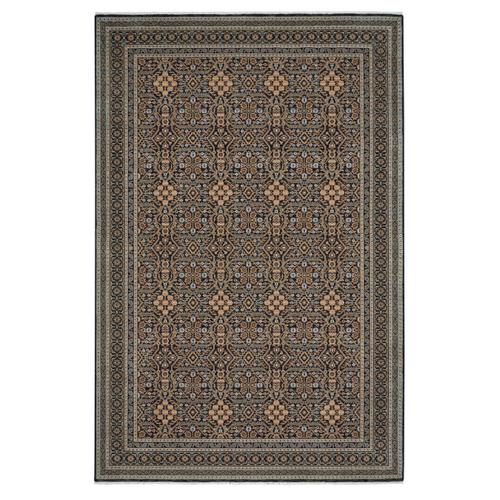 Tribute-Parlor Navy Machine Woven Rugs