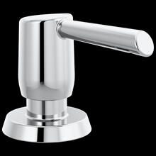 Chrome Metal Soap Dispenser