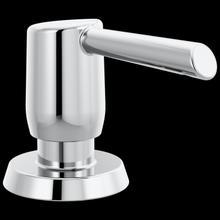 Chrome Metal Soap Dispenser