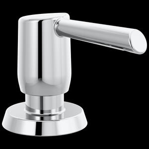 Chrome Metal Soap Dispenser Product Image