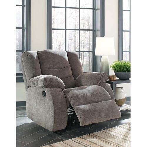 Tulen Rocker Recliner - Gray