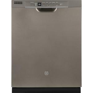 GEGE® Front Control with Plastic Interior Dishwasher with Sanitize Cycle & Dry Boost