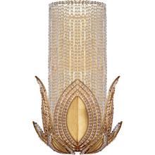 AERIN Rene 1 Light 9 inch Gild Wall Sconce Wall Light