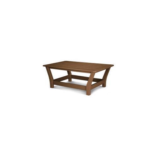 Polywood Furnishings - Harbour Slat Coffee Table in Teak