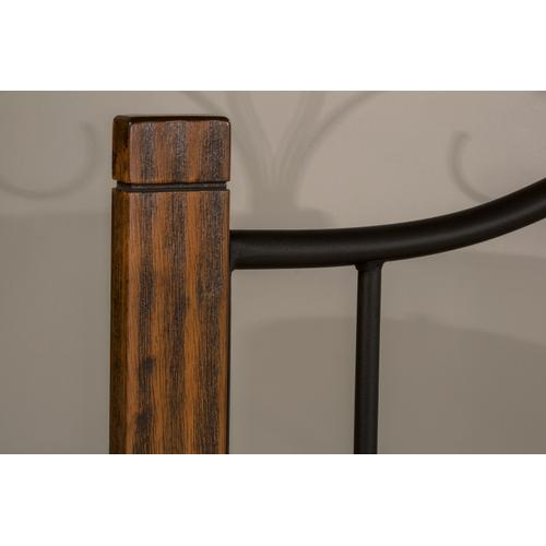 Hillsdale Furniture - Destin King Bed With Frame - Brushed Oak