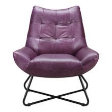 Graduate Lounge Chair Purple