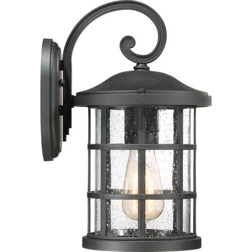 Quoizel - Crusade Outdoor Lantern in Earth Black