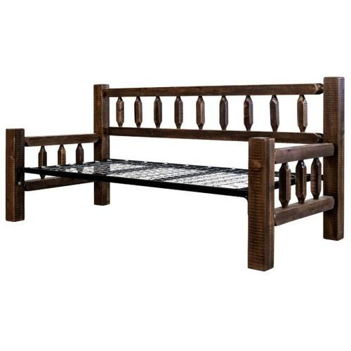 Homestead Collection Day Bed, Stain and Lacquer Finish