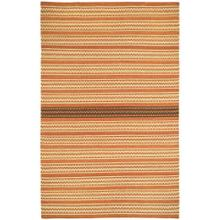 Dokka Stripe Saffron Kettle - Rectangle - 5' x 8'