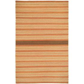 Dokka Stripe Saffron Kettle - Rectangle - 5' x 8'