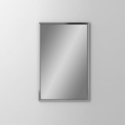 """Main Line 19-1/8"""" X 29-7/8"""" X 1-5/8"""" Rosemont Framed Mirror In Chrome"""
