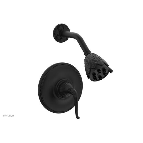 GEORGIAN & BARCELONA Pressure Balance Shower Set - Lever Handle PB3141 - Matte Black
