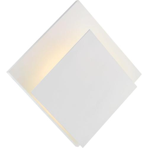 AERIN Naila LED 14 inch White Square Wall Washer Wall Light