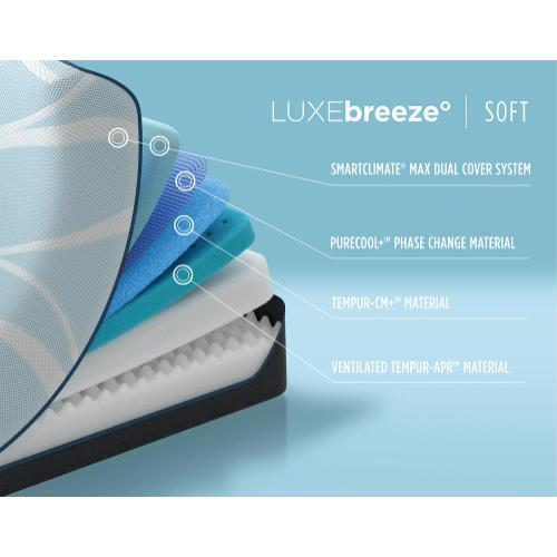 Tempur-Breeze - TEMPUR-breeze - LUXEbreeze - Soft - Twin XL