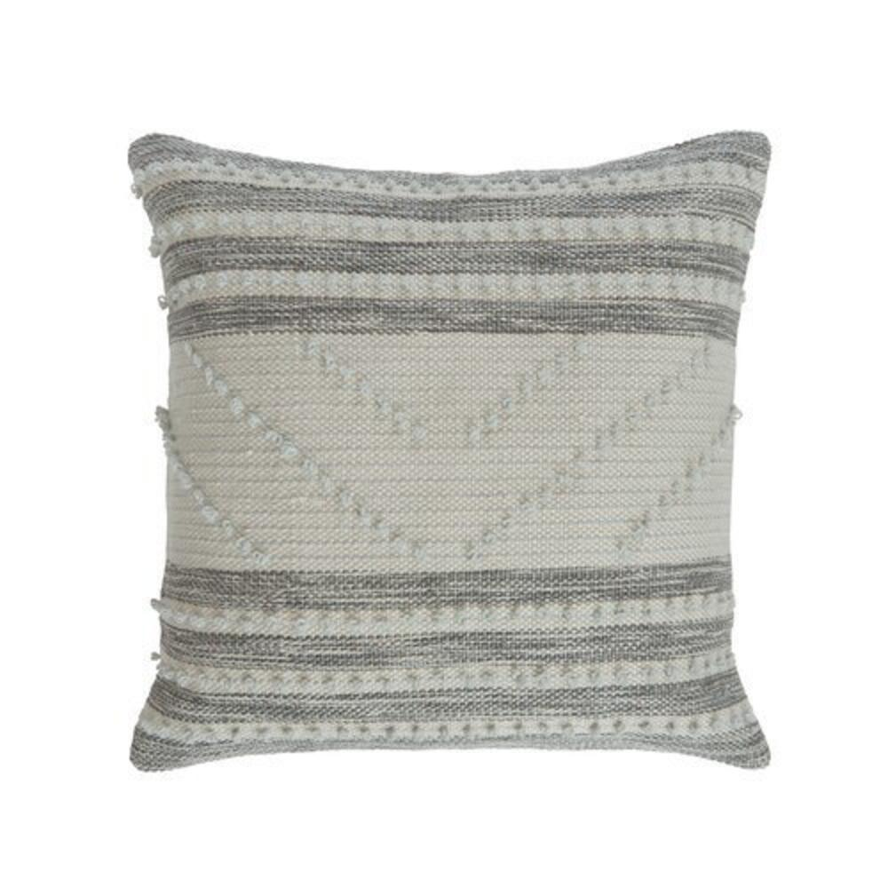 Audrey Pillow Cover Grey