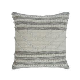 Audrey Pillow Cover Grey