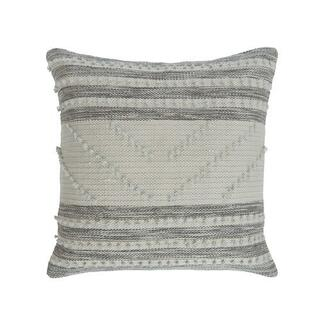 See Details - Audrey Pillow Cover Grey