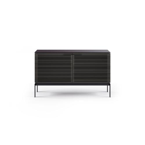 Sv 7128 Dual Credenza Media Console in Charcoal Stained Ash