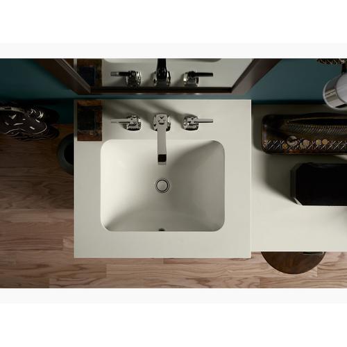 Biscuit Undermount Bathroom Sink
